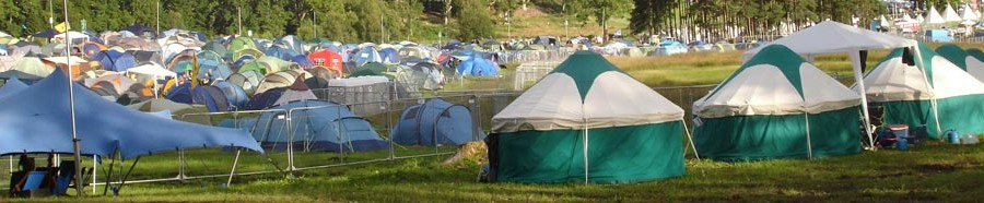 The Lorelei Belladrum Camping