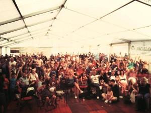 Lorelei Speyfest Crowd