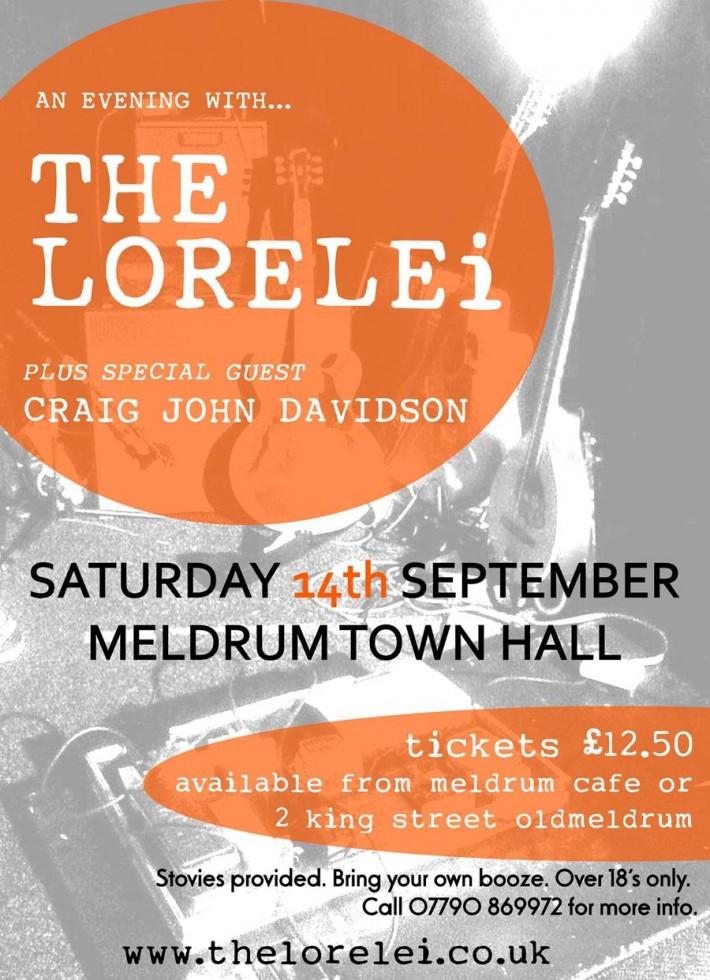 The Lorelei Oldmeldrum poster