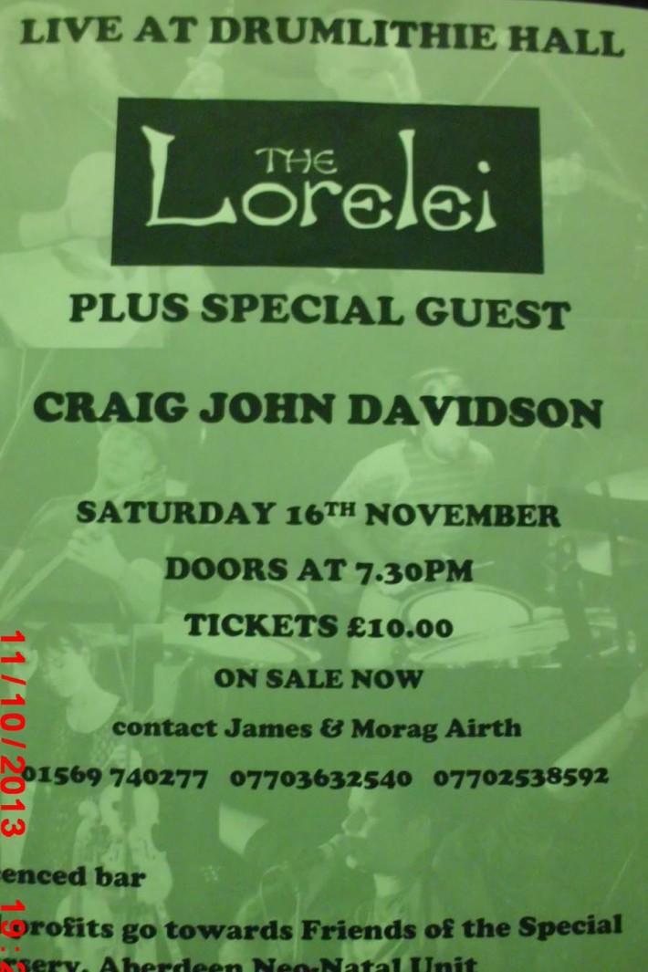 Drumlithie Lorelei Poster